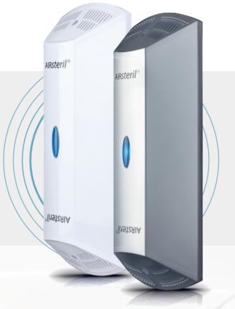 Washroom Thermal 10 Air Purifier, Titanium Look | Medical Supermarket