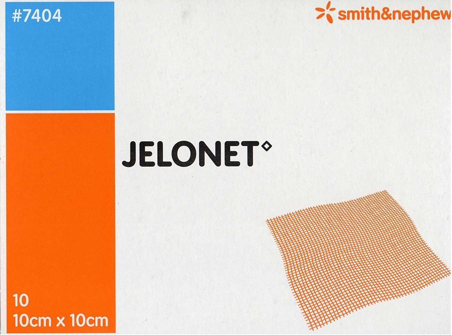 Jelonet Paraffin Gauze Dressing 10cm x 10cm   Medical Supermarket