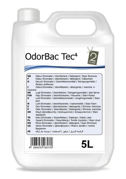 Odorbac Tec Odour Eliminator and Multi Surface Cleaner - Fresh Linen 5Ltr | Medical Supermarket