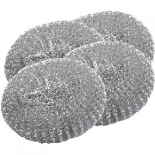 Silver Metal Scourer | Medical Supermarket