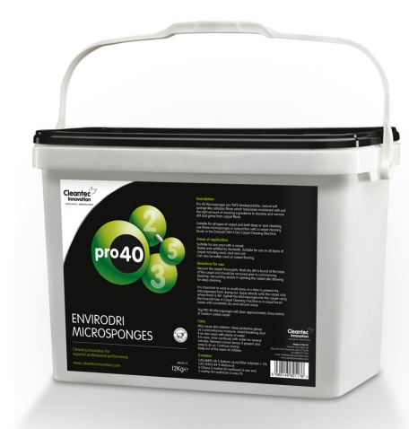 Gen4 Carpet Cleaning Green Tea 4x3kg Bucket-Microsponges | Medical Supermarket