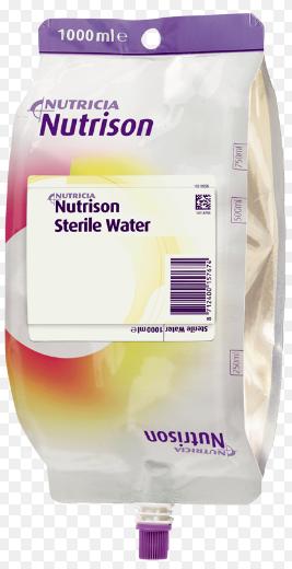 (P) Nutricia Nutrison Sterile Water 1Ltr Bag   Medical Supermarket