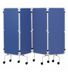 Sidhil Replacement Screen Curtains Only Plastic, Blue | Medical Supermarket