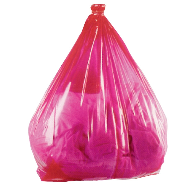 Water Soluble Laundry Sacks Red | Medical Supermarket