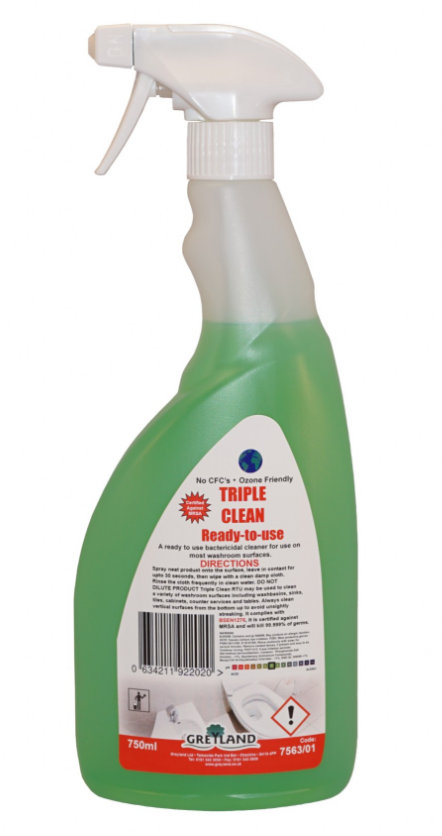 Triple Clean Washroom Cleaner 750ml - Pack of 1 | Medical Supermarket