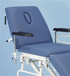 Bariatric Plinth Phlebotomy Arms | Medical Supermarket