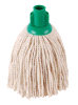 Hygiene Py Yarn Mop Size 12 Green | Medical Supermarket