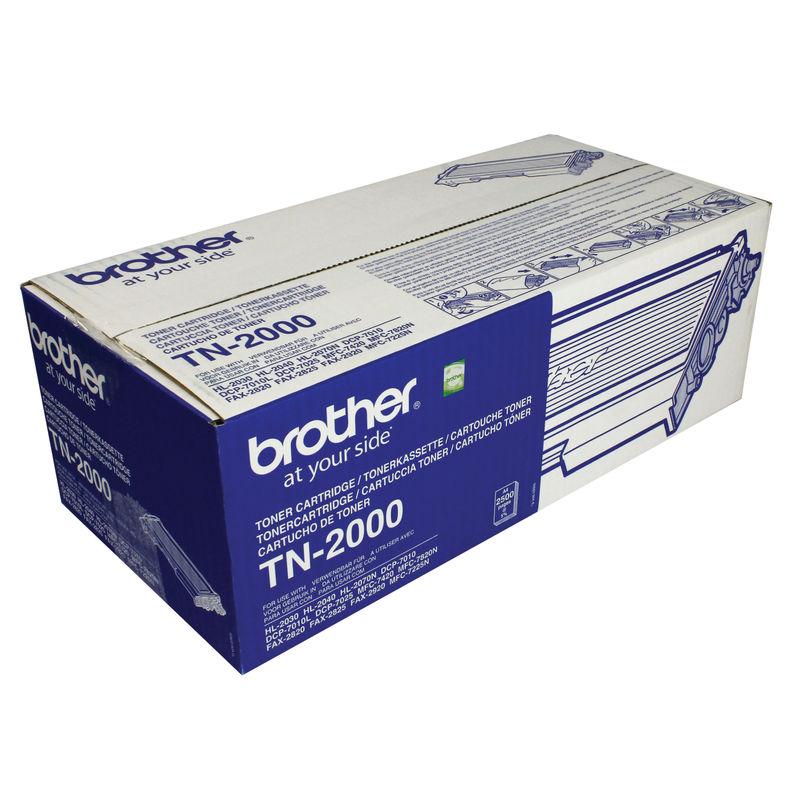 Brother TN2000 Black Toner | Medical Supermarket