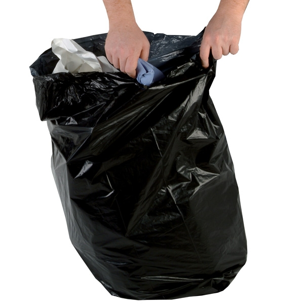 Medium Duty Black Refuse Sacks 90 Litres | Medical Supermarket