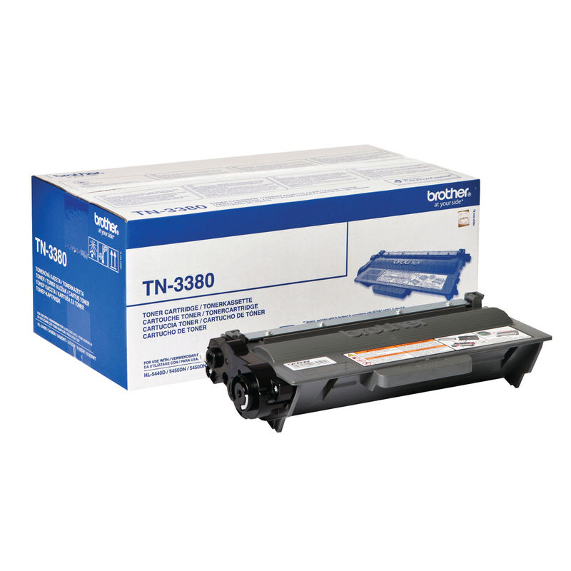 Brother TN3380 High Capacity Black Toner | Medical Supermarket
