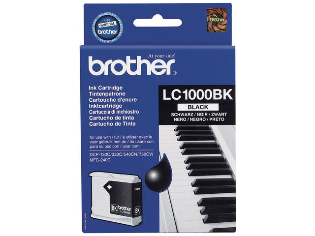 Brother LC1000 Cartridge Black | Medical Supermarket