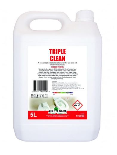 Triple Clean Washroom Cleaner 5 Litre- Pack of 1 | Medical Supermarket