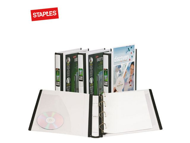 A4 40mm Lever Arch File White   Medical Supermarket
