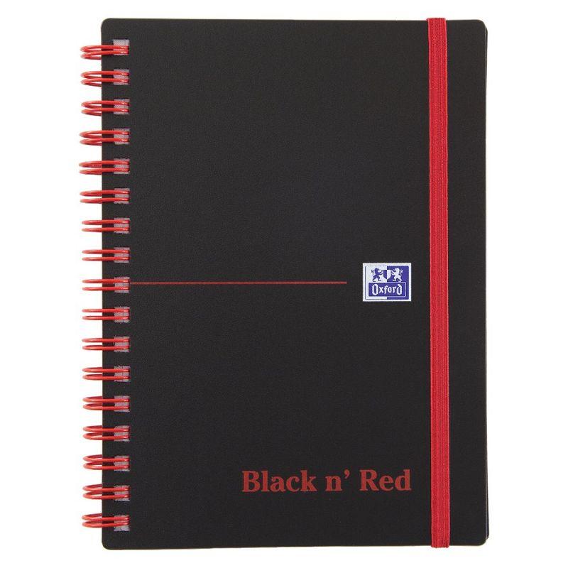 Black n Red A6 Wirebound Notebook   Medical Supermarket