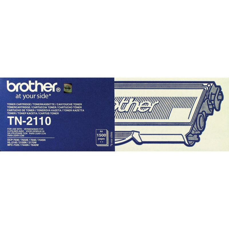 Brother TN2110 Black Toner | Medical Supermarket
