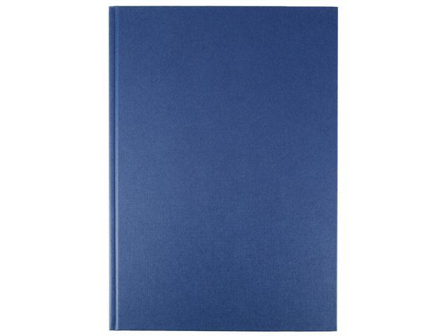 Blue A4 Casebound Notebook | Medical Supermarket