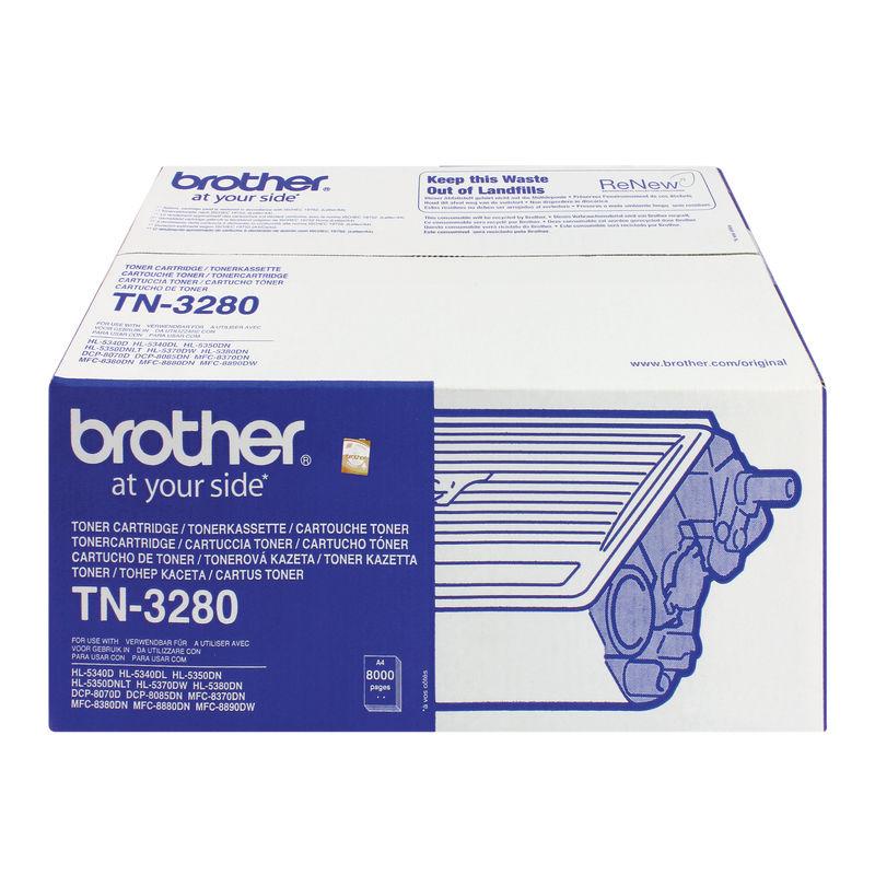 Brother TN3280 High Capacity Toner | Medical Supermarket