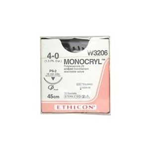 Monocryl Suture WW3206 | Medical Supermarket