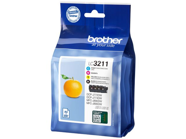 Brother LC3211 Multipack Ink | Medical Supermarket