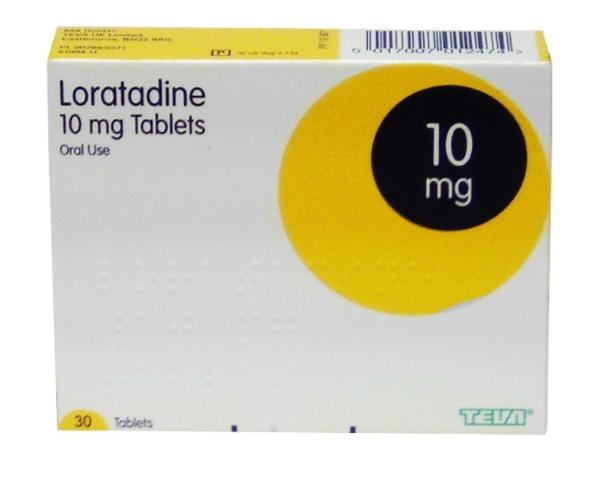 (P) Loratadine 10mg Tablets   Medical Supermarket