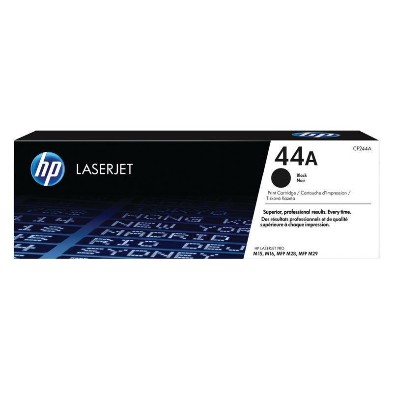 HP 44A Original LaserJet Toner Cartridge, Black | Medical Supermarket