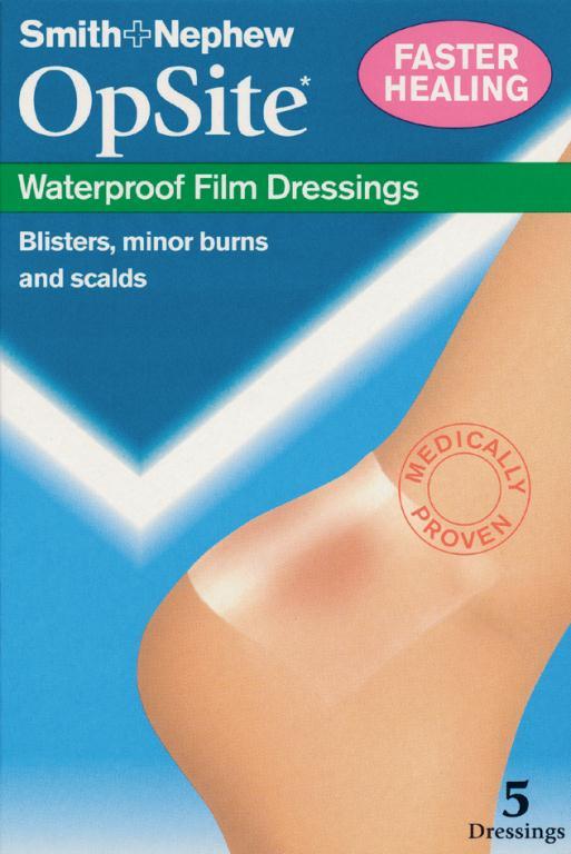 Opsite Waterproof Film Dressing 8cm x 10cm | Medical Supermarket