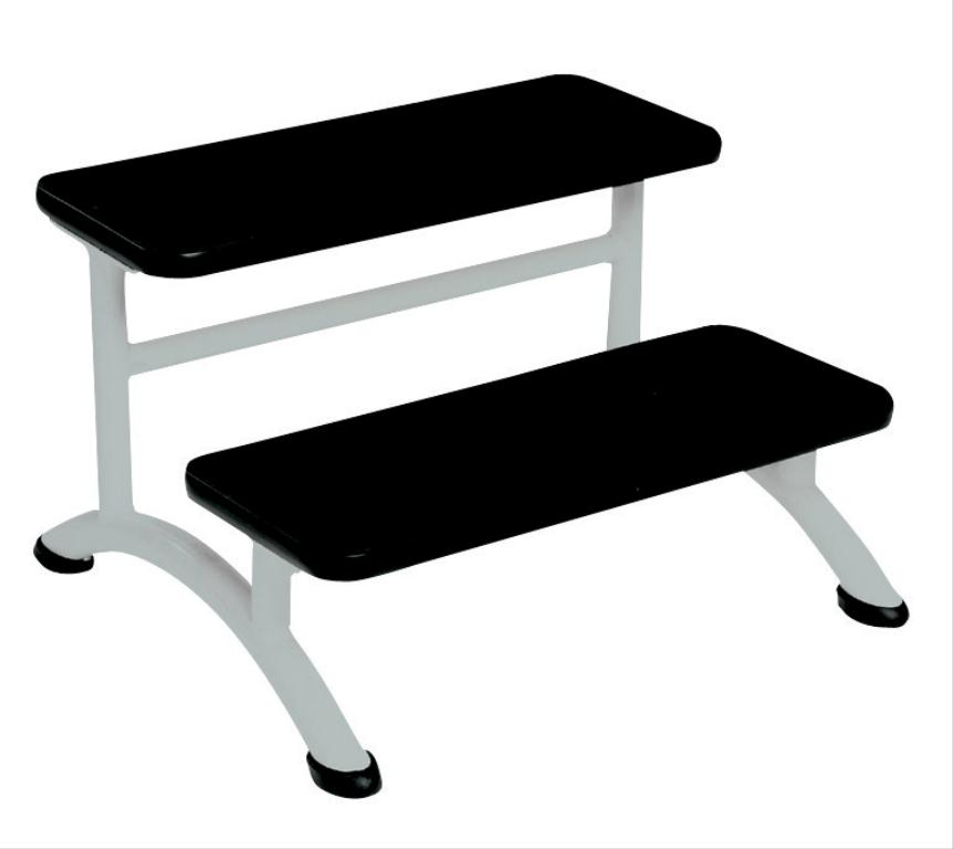 Couch Step - Double Tier White | Medical Supermarket