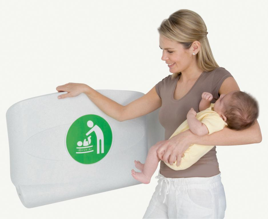 Horizontal Baby Changing Unit Oatmeal   Medical Supermarket