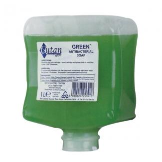 Deb Cutan Green Antibacterial Soap   Medical Supermarket
