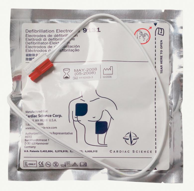 Powerheart G3 AED Defibrillator Pads Adult Electrode Pads | Medical Supermarket
