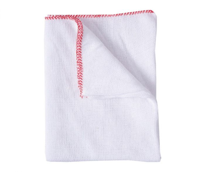 Stockinette Dish Cloths Red | Medical Supermarket