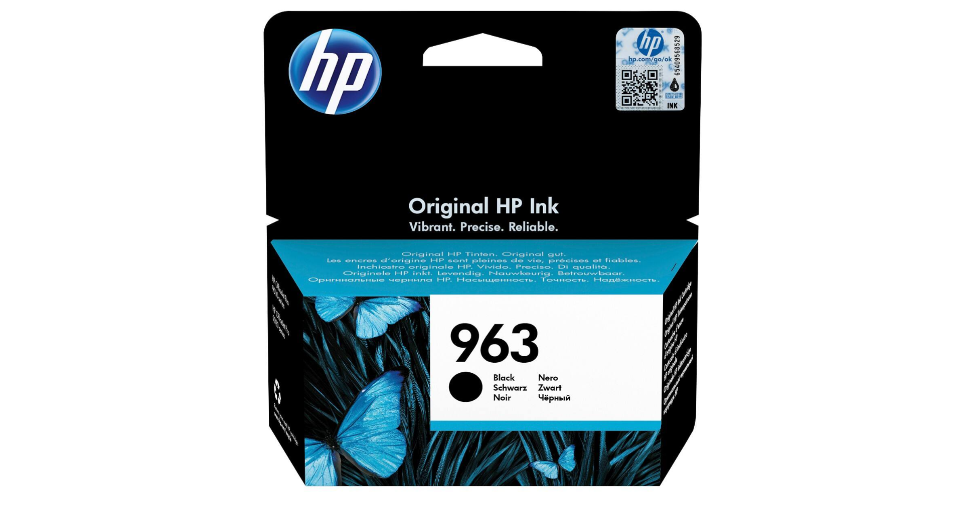 HP No.963 Ink Cartridge Black | Medical Supermarket