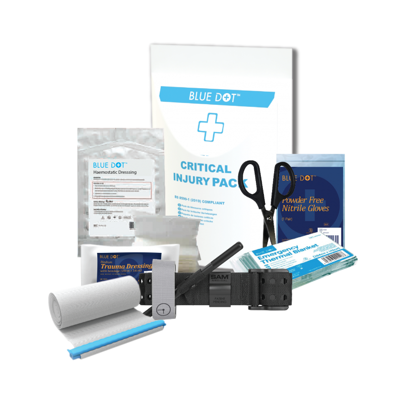 BS 8599-1 (2019) Critical Injury Pack | Medical Supermarket