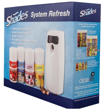 Selden 3000 Air Freshener Starter Kit | Medical Supermarket