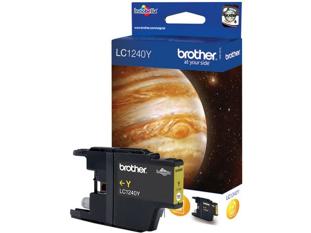 Brother LC1240 Y Innobella™ Ink, Ink Cartridge, Yellow | Medical Supermarket