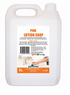 Standard Pink Pearlised Hand Soap 5 Litre | Medical Supermarket