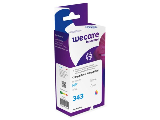 Compatible HP No.343 Tri-Colour Ink Cartridge | Medical Supermarket