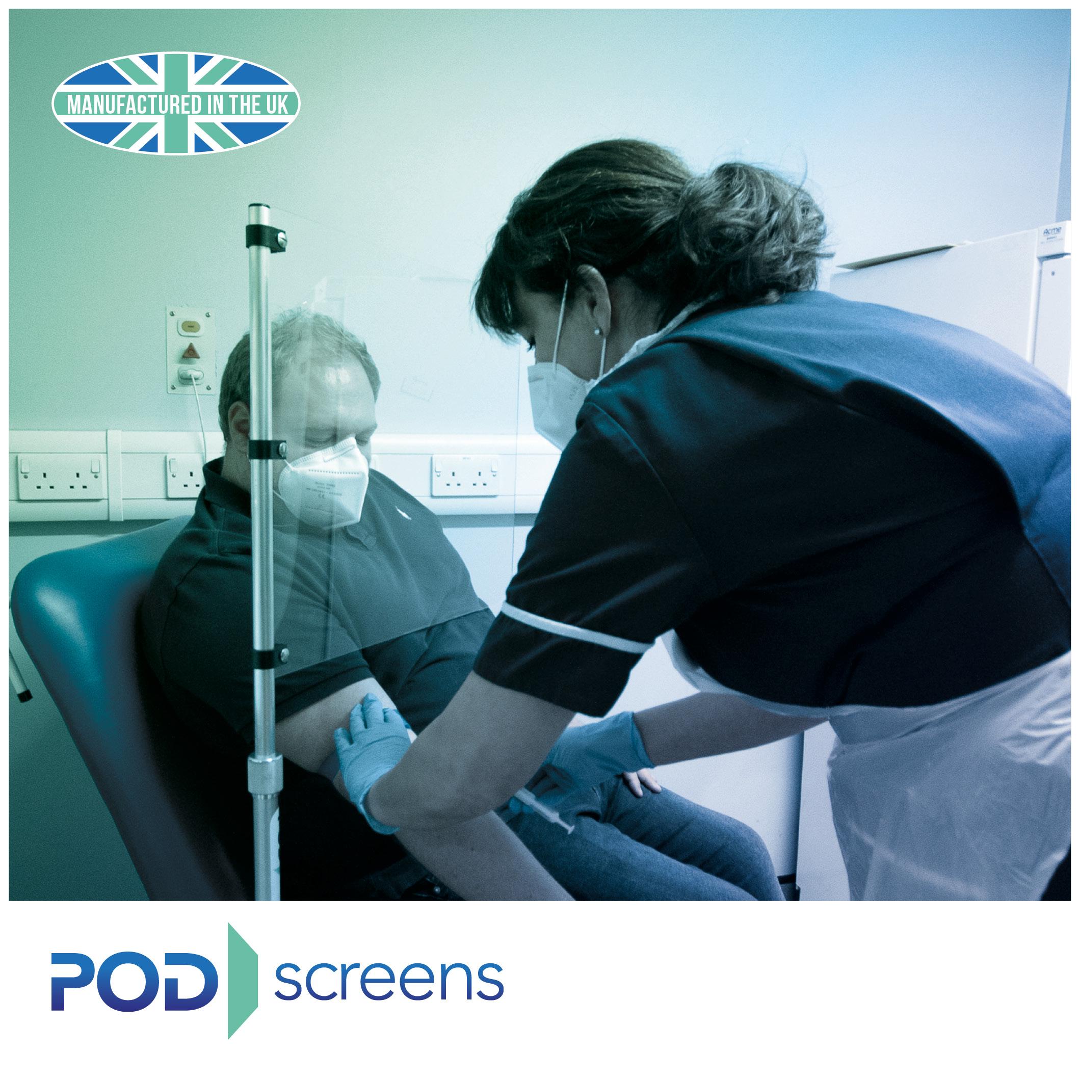 POD Protection Screen Plus | Medical Supermarket