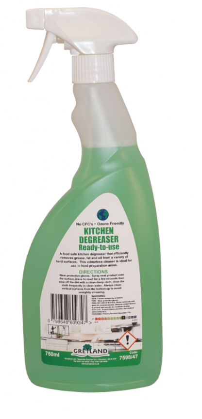 Kitchen Degreaser Ready to Use Ready to Use 750ml - Pack of 1 | Medical Supermarket