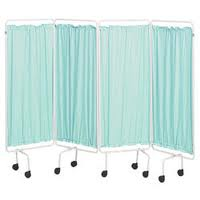 Sidhil Replacement Screen Curtains Plastic, Green | Medical Supermarket