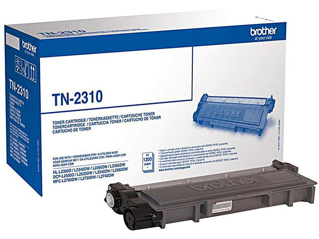 Brother TN2310 Black Toner | Medical Supermarket