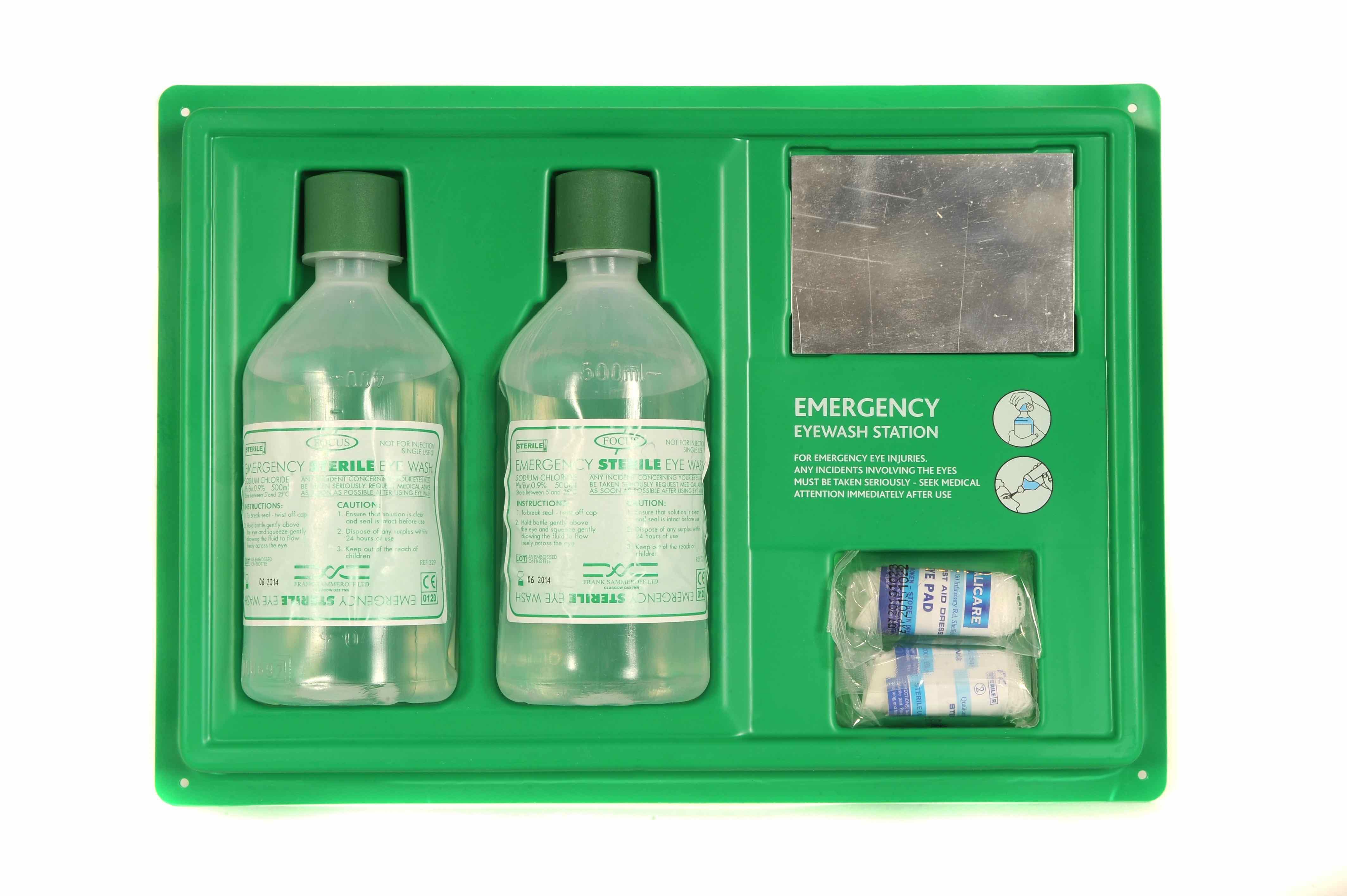 Emergency Eye Wash Station | Medical Supermarket