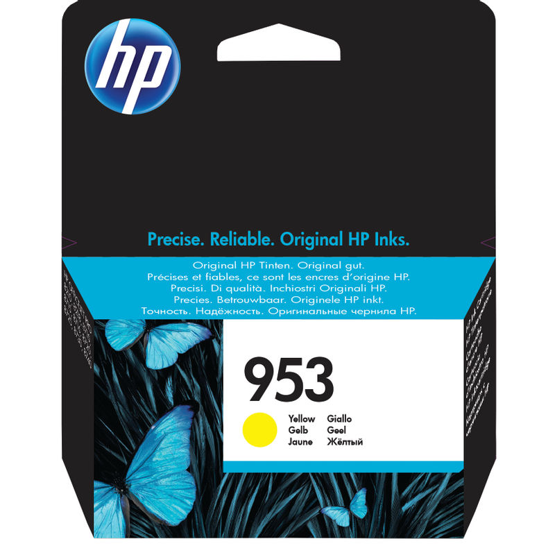 HP No.953 Ink Cartridge Yellow | Medical Supermarket