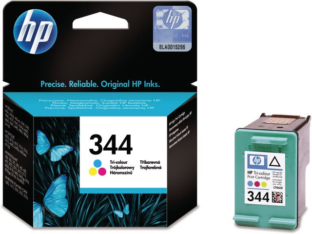 HP No.344 High Capacity Tri-Colour Ink Cartridge Single Pack | Medical Supermarket
