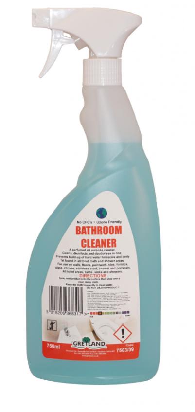 Bathroom Cleaner 750ml - Pack of 1   Medical Supermarket