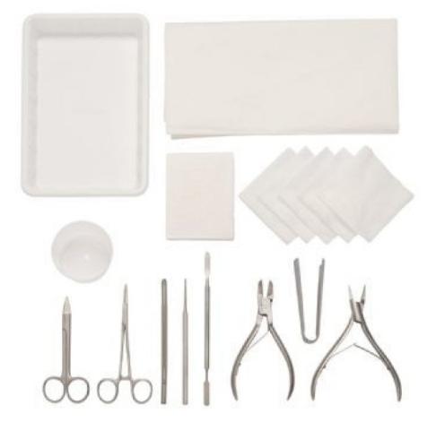 Zadek's Podiatry Procedure Packs | Medical Supermarket