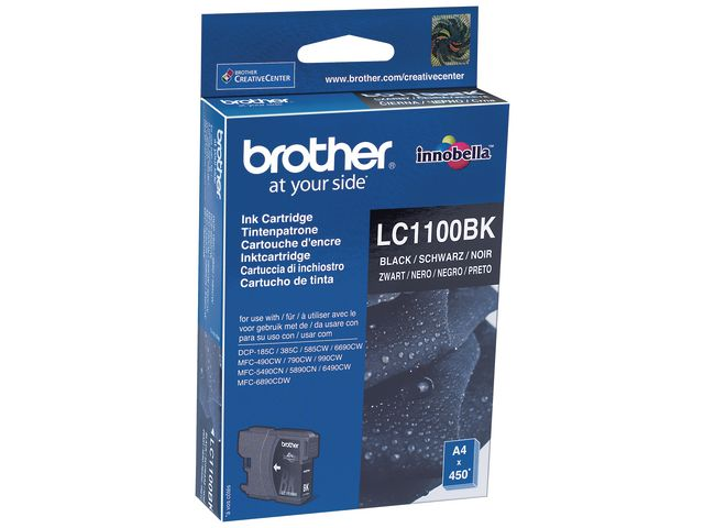 Brother LC1100 Ink Cartridge Black | Medical Supermarket