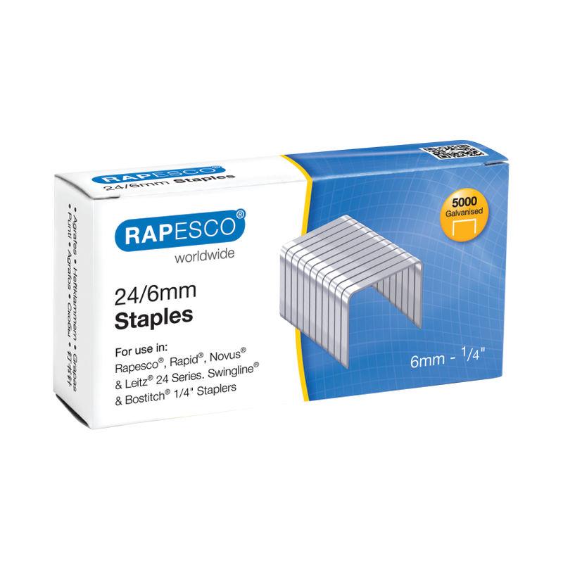 Rapesco Staples 24/6 | Medical Supermarket