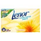 Lenor Tumble Dryer Summer Breeze Sheets | Medical Supermarket