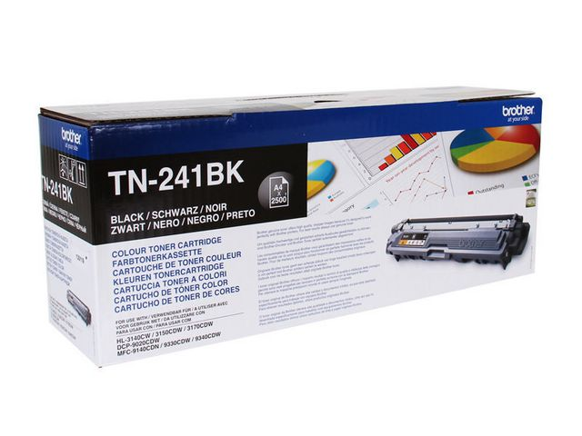 Brother TN241 Toner Black | Medical Supermarket